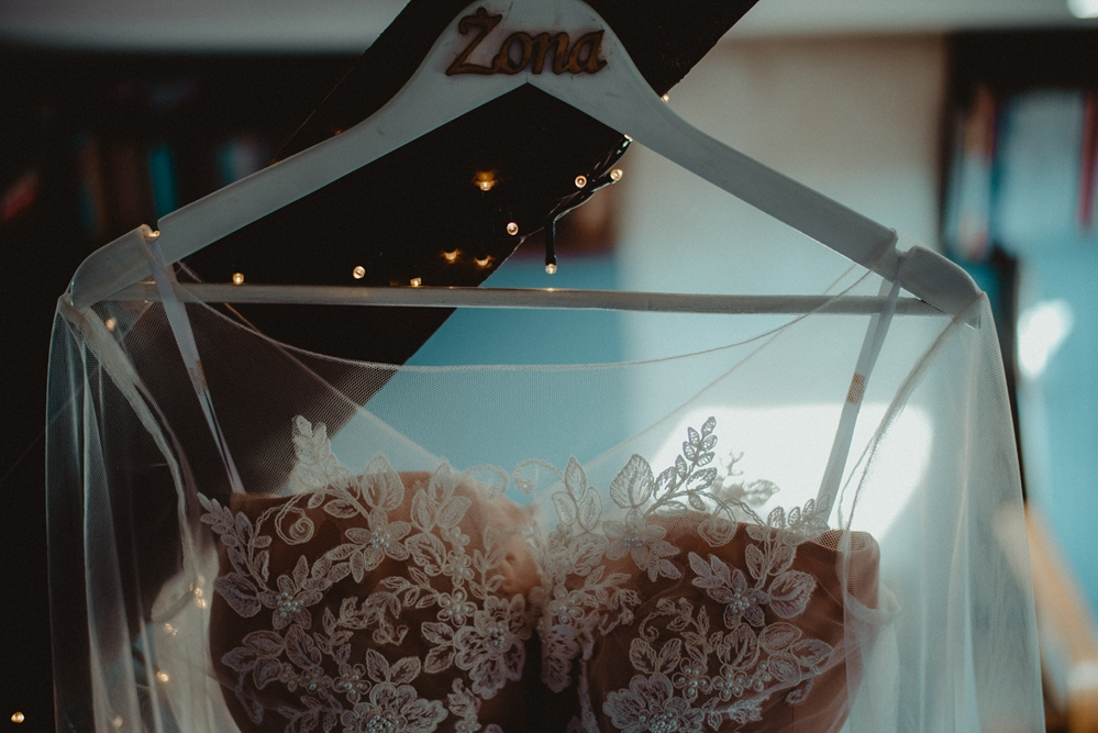 suknia, żona