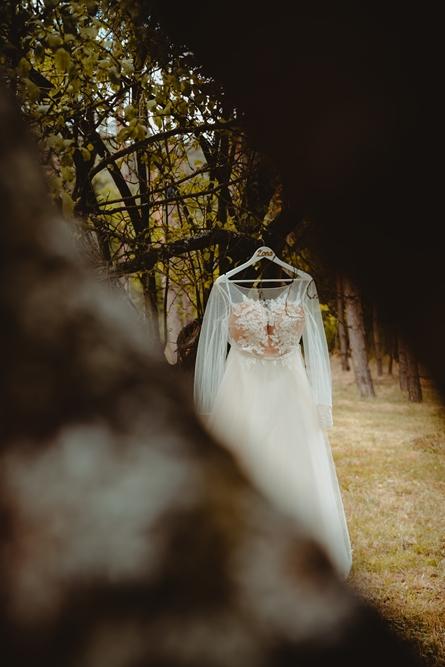 suknia ślubna, wesele, plener