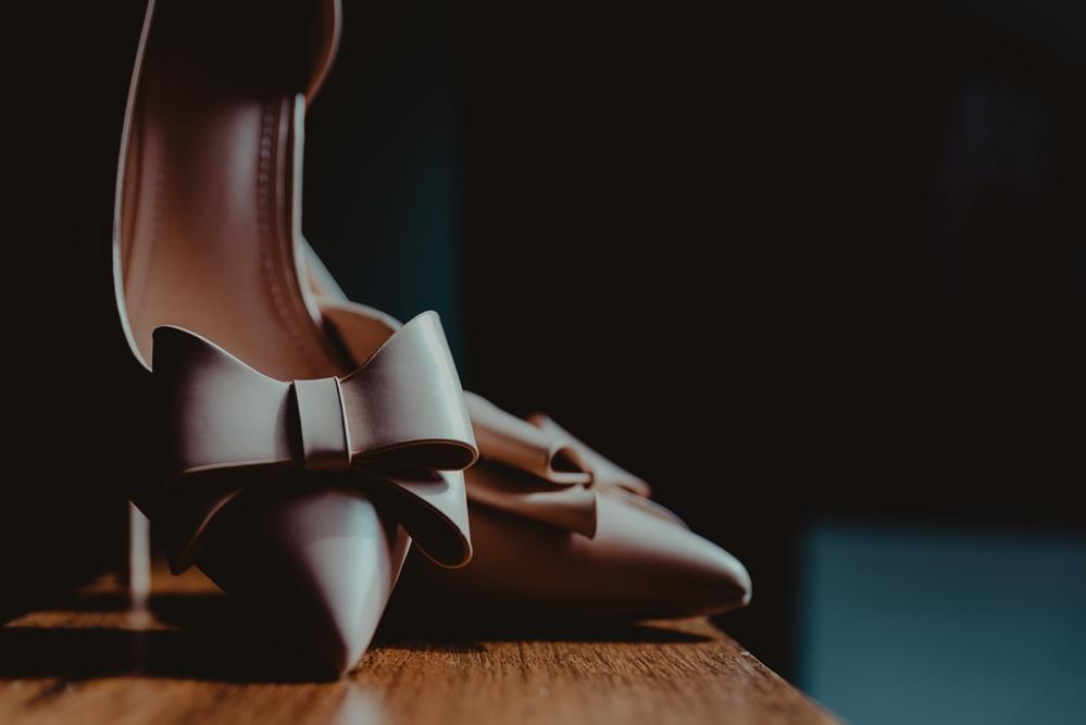 szpilki, ślubne buty