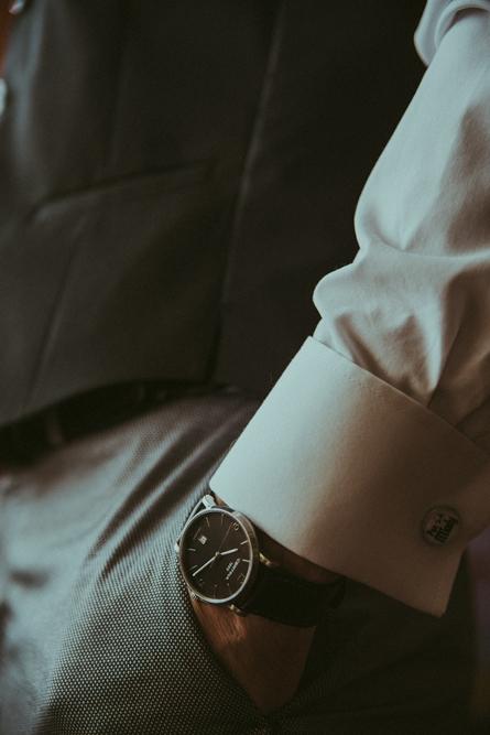 przygotowania, ślub, zegarek