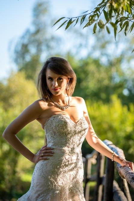 sesja zdjęciowa w plenerze, plener, suknia ślubna