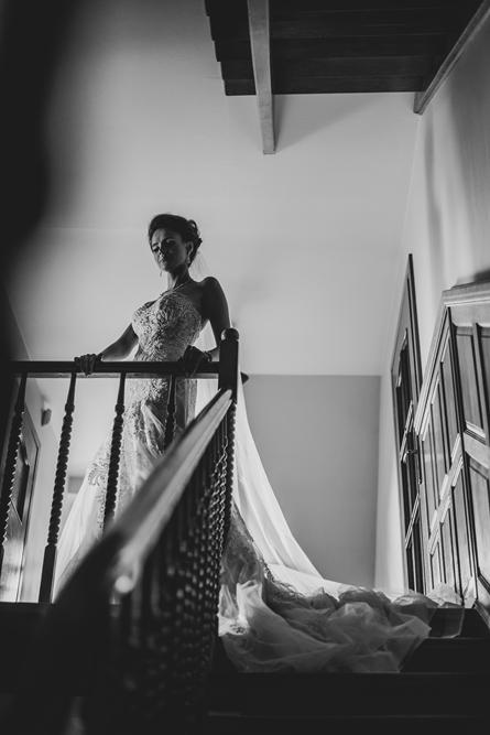 suknia ślubna, sesja w domu, wesele, fotografia